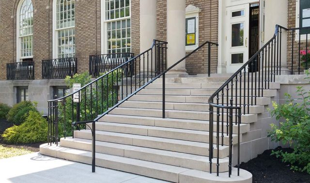 Cortland Free Library Railings