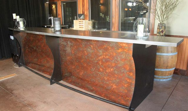 Anyela's Vineyards - Copper Laminate Bar